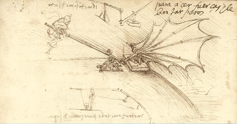 达芬奇设计手稿