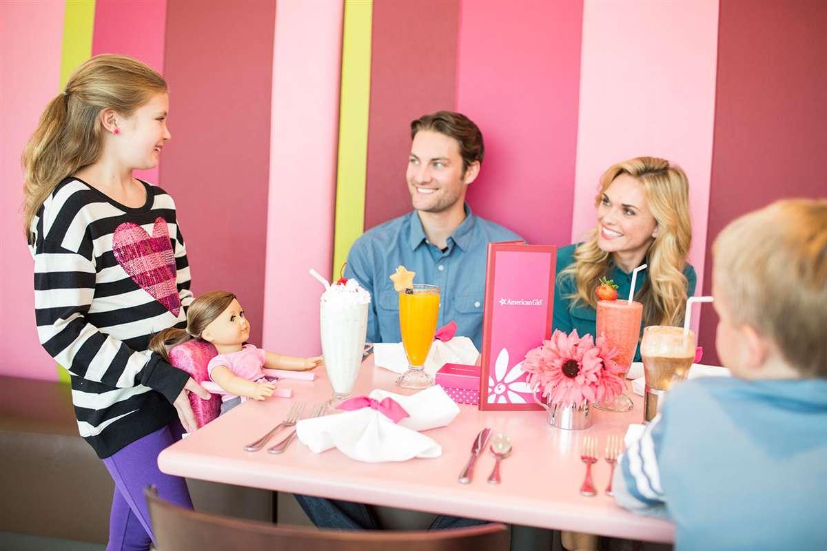 美国女孩餐厅