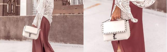 Rebecca Minkoff白色手提包
