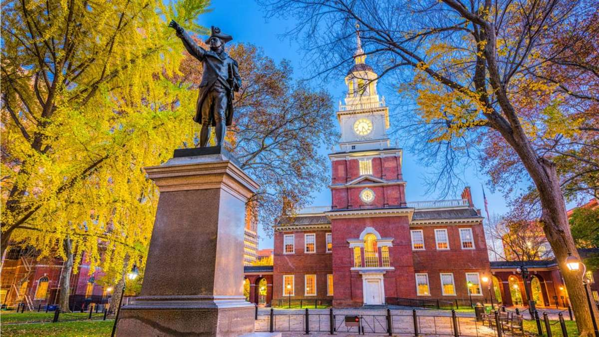 Independence Hall in Philadelphia. Photo: Shutterstock