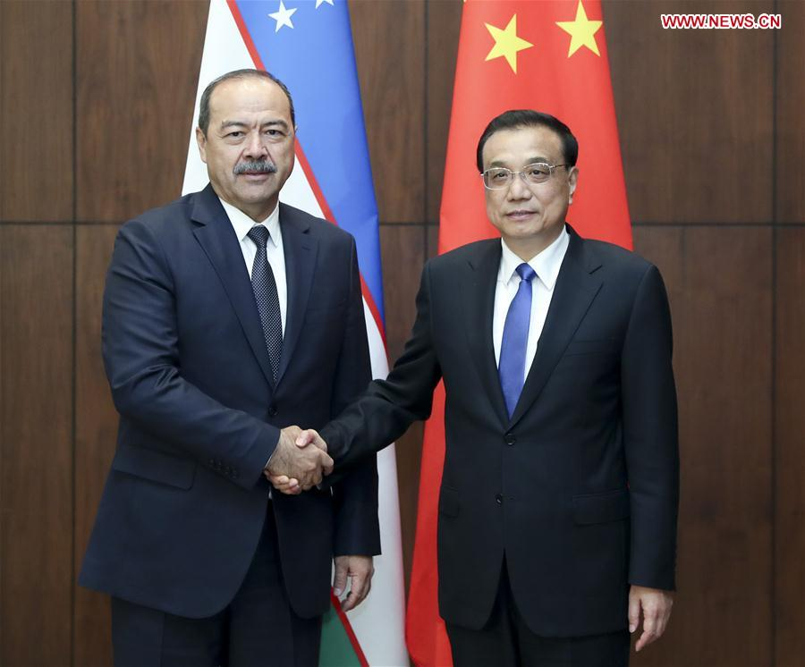 Chinese Premier Li calls for more tangible results in China-Uzbekistan cooperation