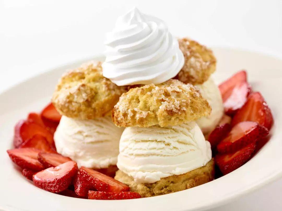 草莓冰淇淋塔
