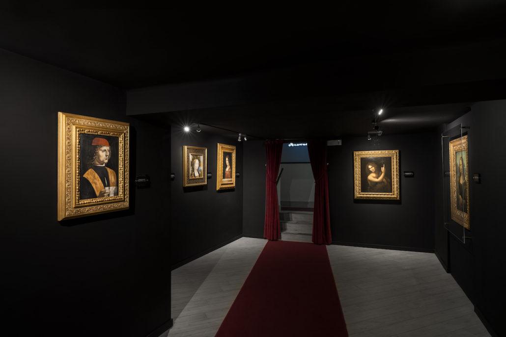 达芬奇体验博物馆 画廊