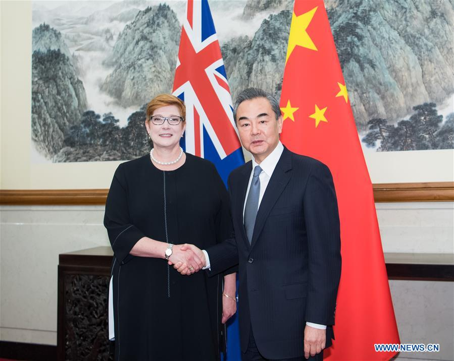 China, Australia eye better ties based on mutual trust, cooperation