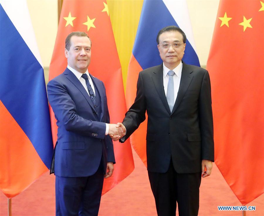 China, Russia eye enhanced mutual trust, economic ties