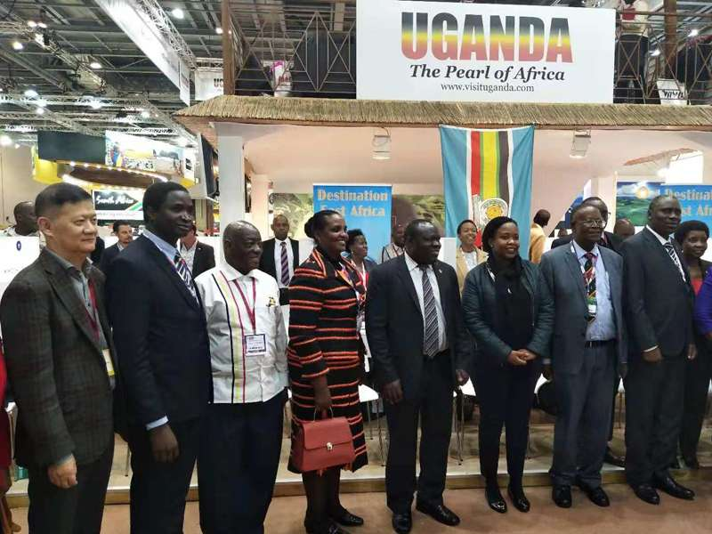 Uganda showcased its tourism highlights at WTM London.