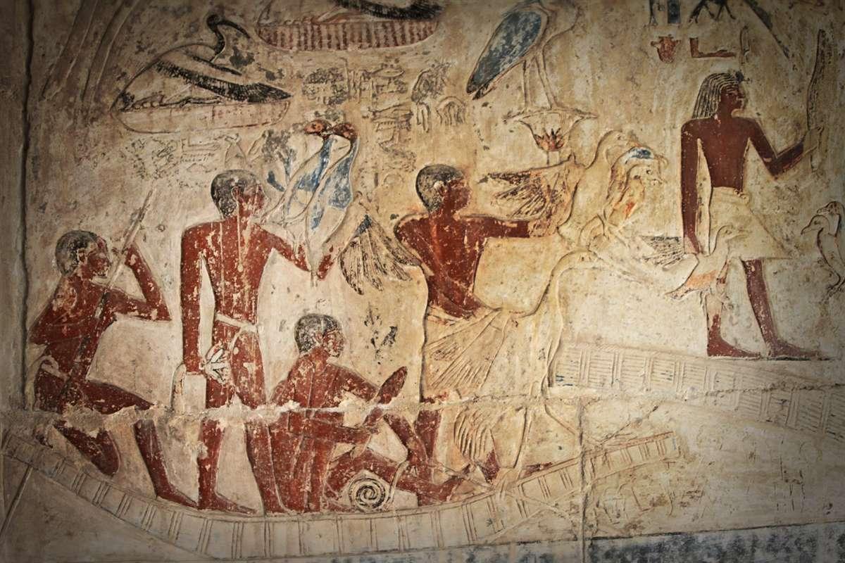 埃及古墓壁画