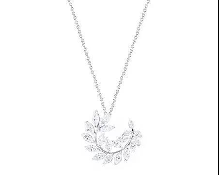 Kwiat白金钻石项链