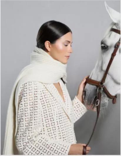 Akris白色西装外套