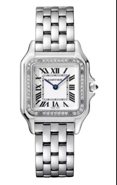 Cartier方形腕表