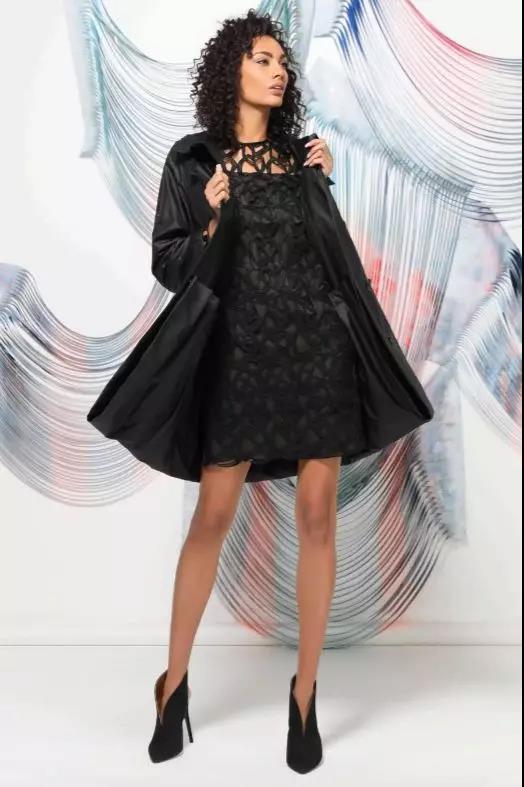 Akris 黑色连衣裙