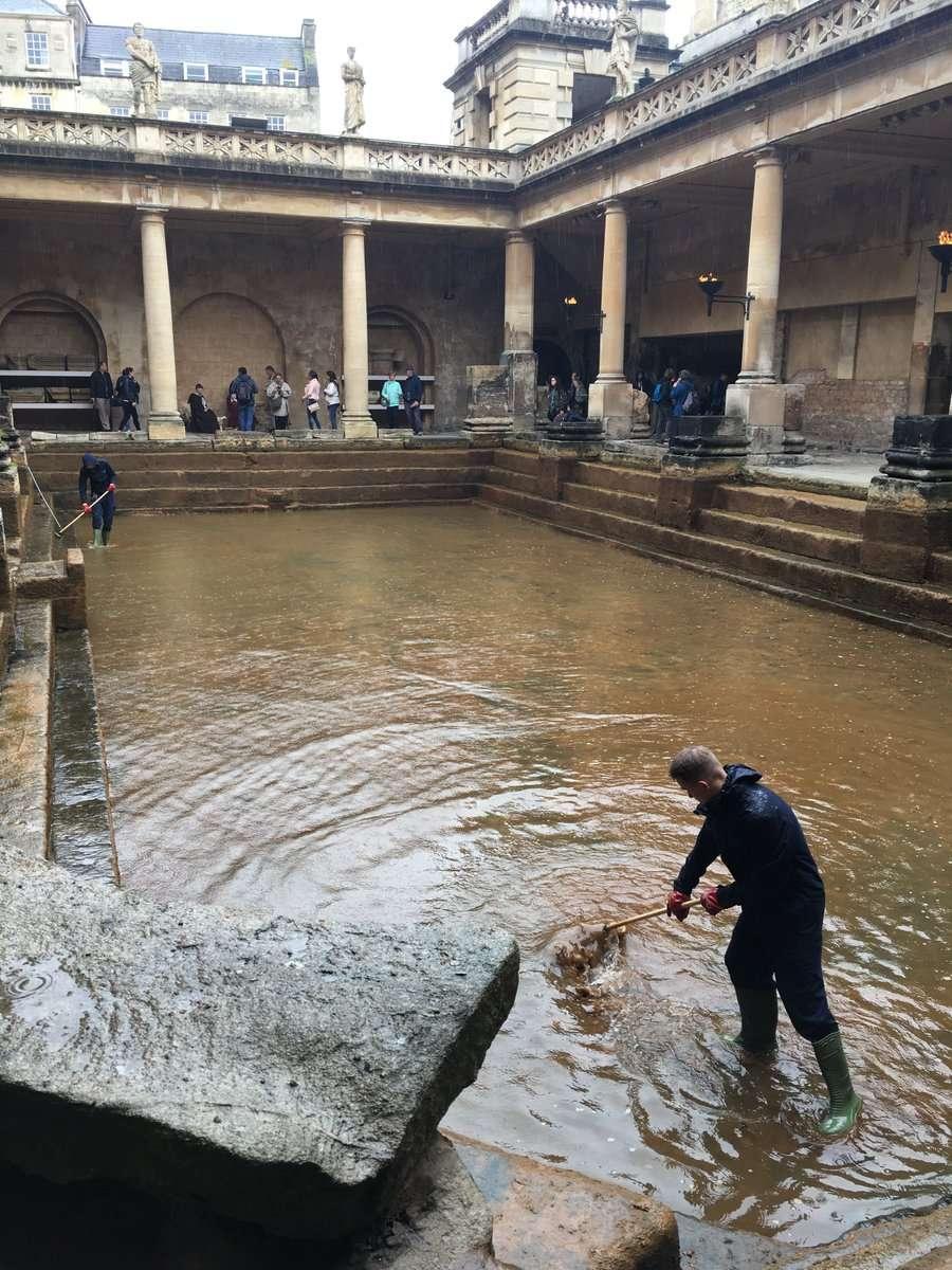 罗马浴场博物馆