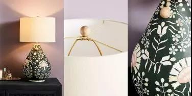 Avignon印花底座床头灯