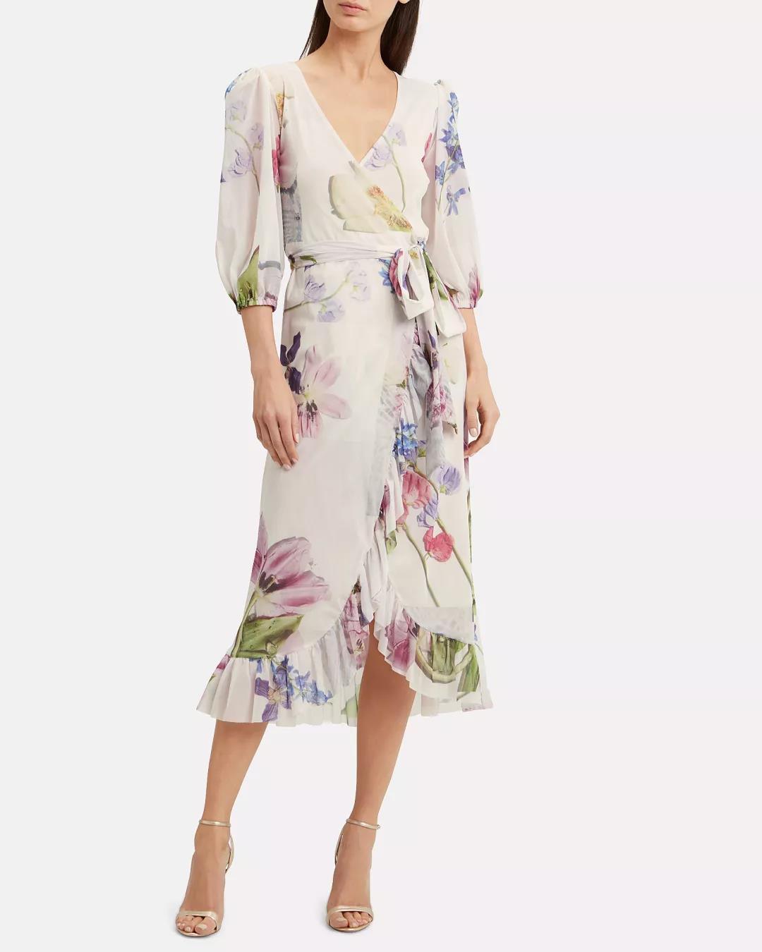 Intermix裹身式连衣裙
