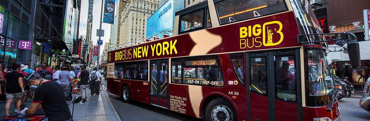 纽约Big Bus随上随下观光巴士游