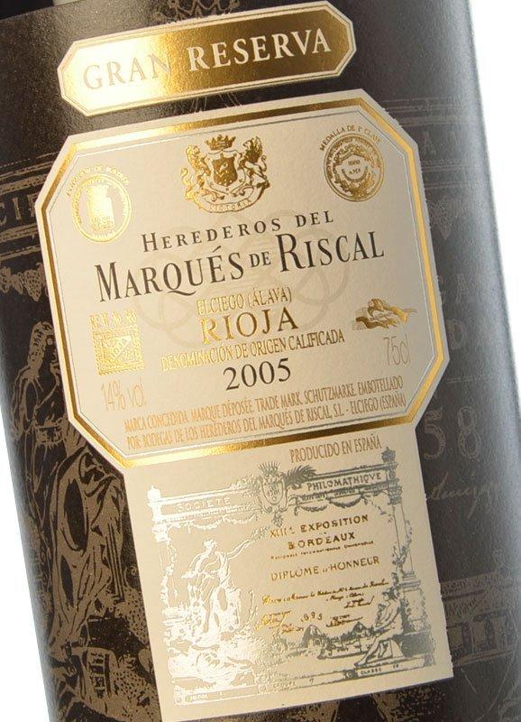 Marqués de Riscal Gran Reserva