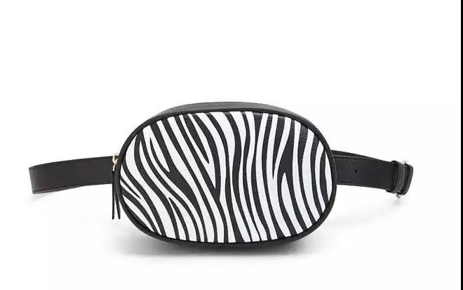 Zebra Print Belt Bag