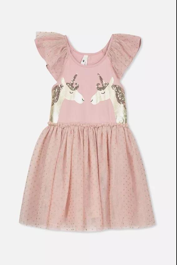 Iris Tulle Dress