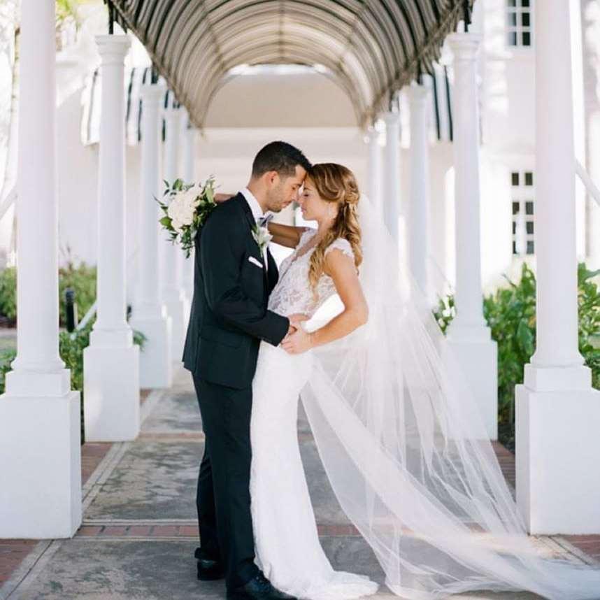 加勒比牙买加半月度假村婚纱照
