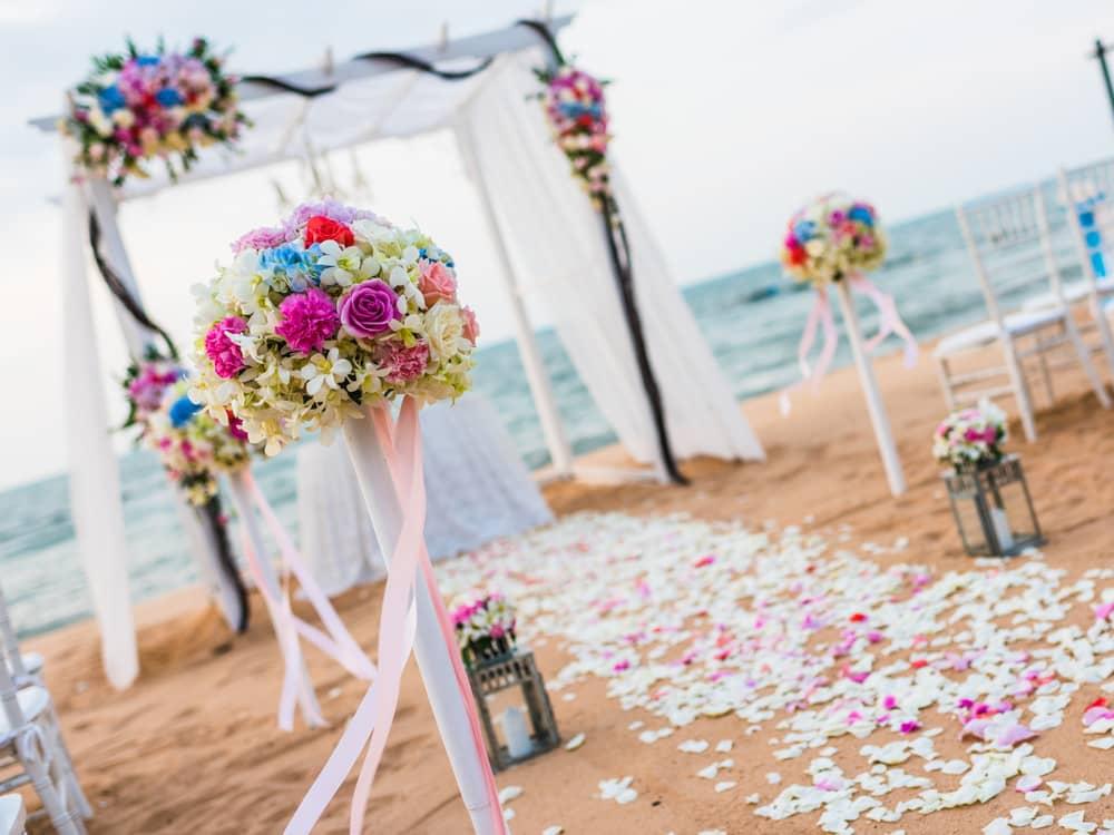 加勒比牙买加半月度假村婚礼场地