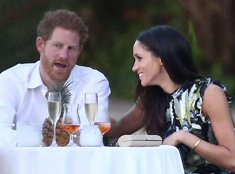 英国哈里王子和梅根王妃在牙买加蒙特哥贝
