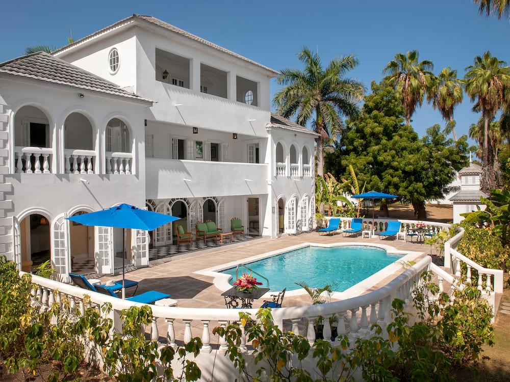 加勒比牙买加蒙特哥贝玫瑰厅别墅泳池