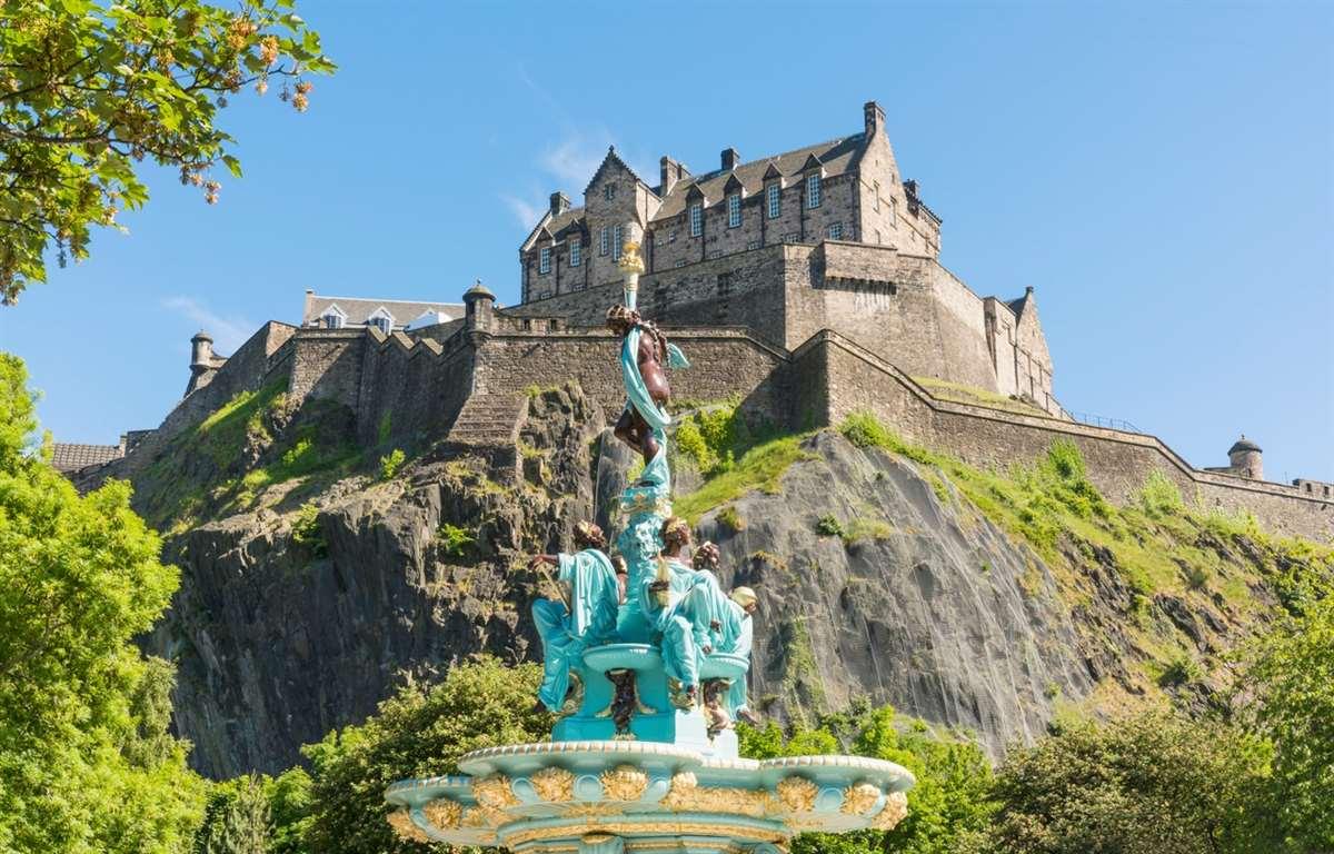 英国苏格兰爱丁堡城堡
