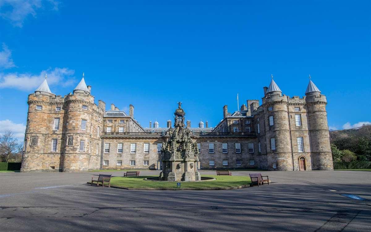 英国苏格兰爱丁堡荷里路德宫