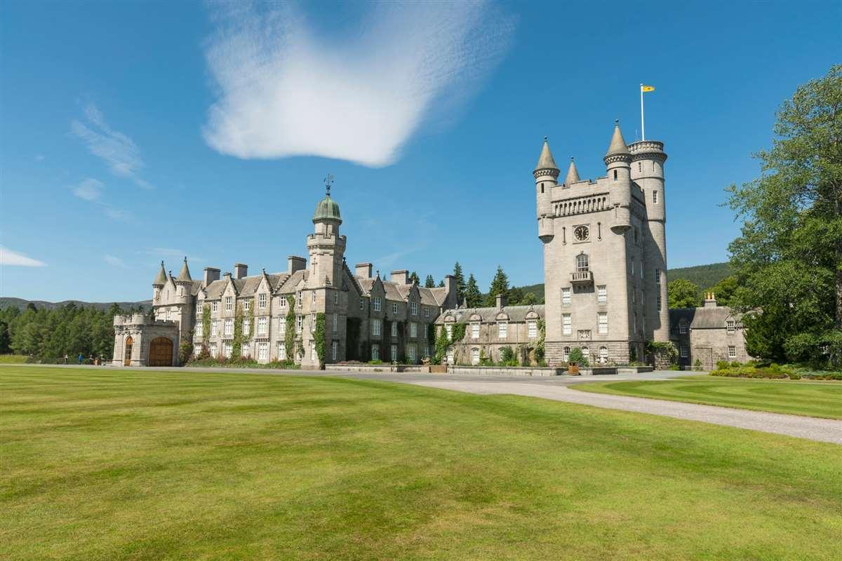 英国苏格兰巴尔莫勒城堡