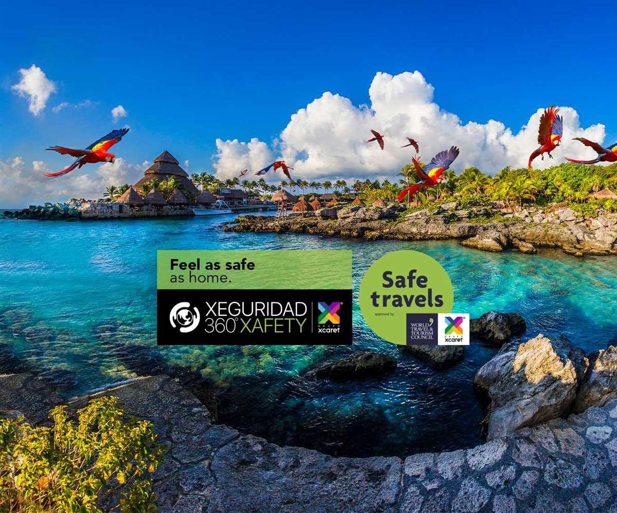 墨西哥坎昆西卡莱特公园安全旅游认证