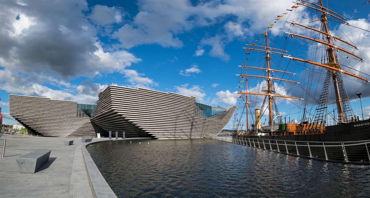 英国苏格兰V&A博物馆邓迪分馆