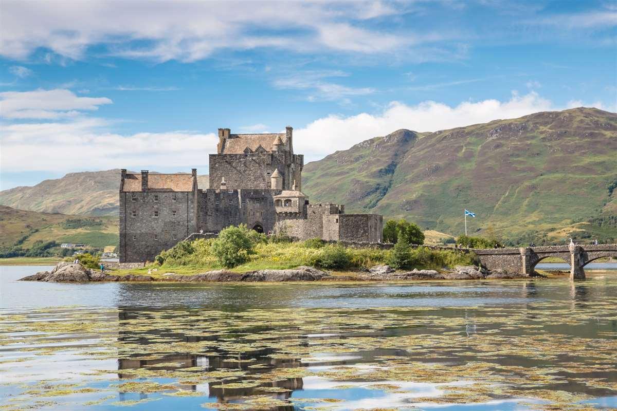 英国苏格兰艾琳·多南古堡