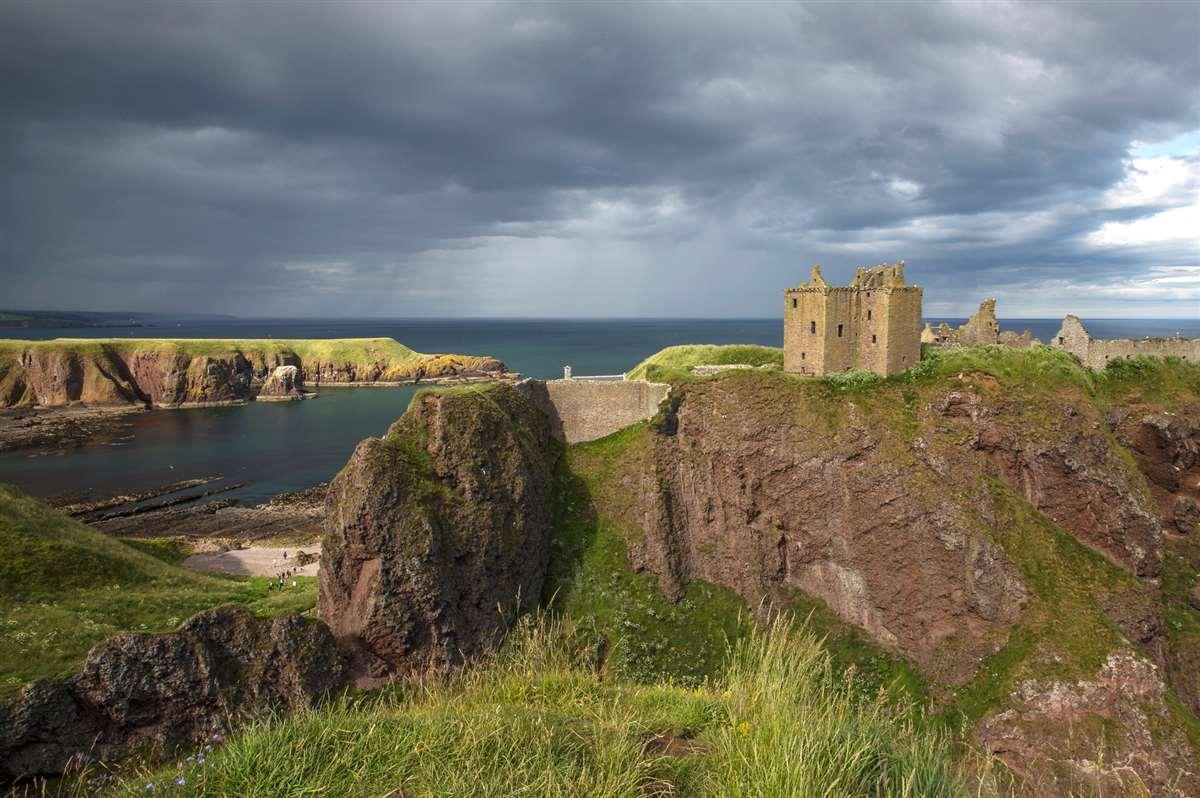 英国苏格兰斯通黑文邓诺特城堡