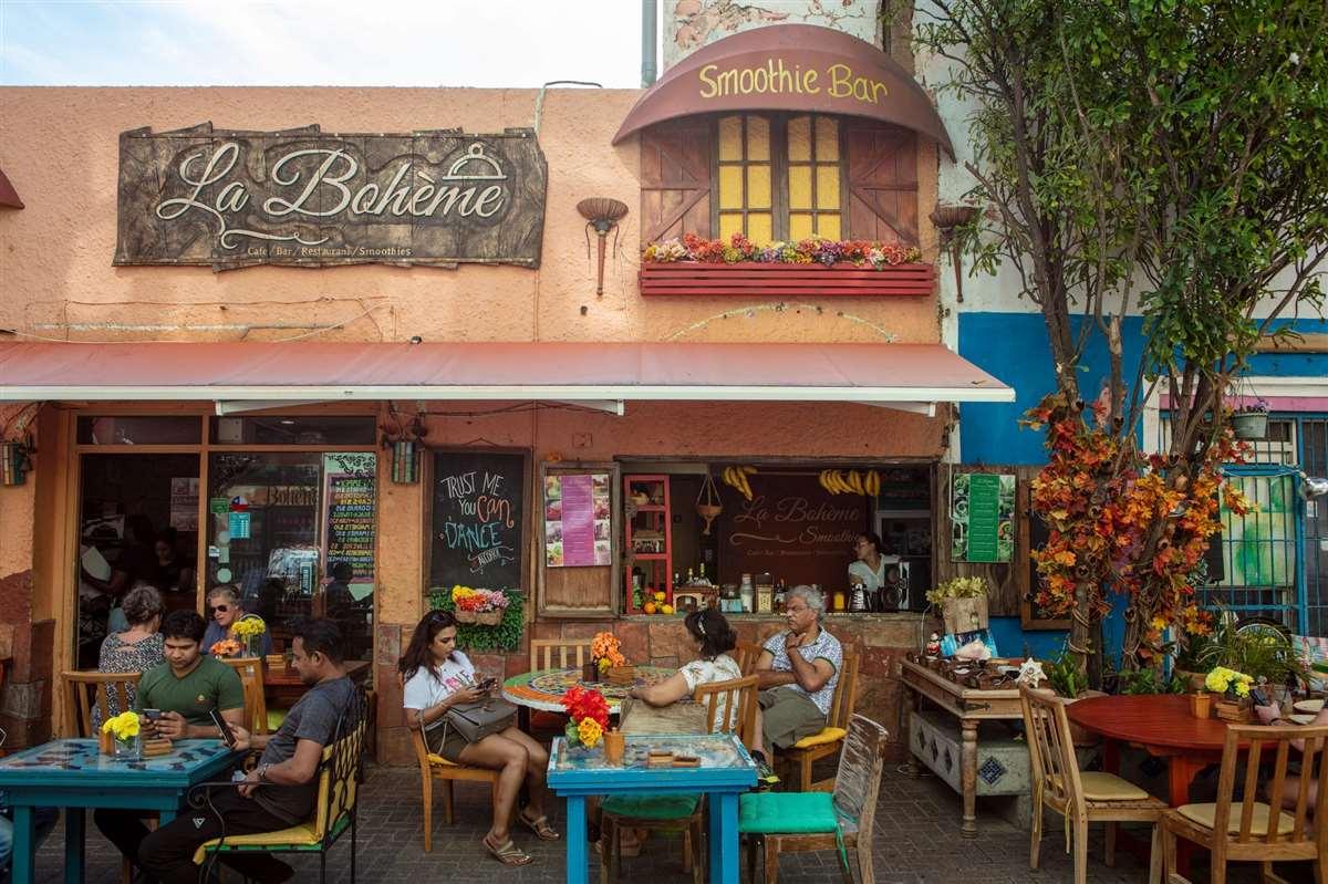 加勒比库拉索La Bohème Curaçao冰沙吧