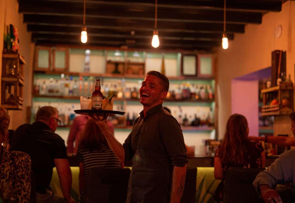 加勒比库拉索Caña Bar and Kitchen酒吧