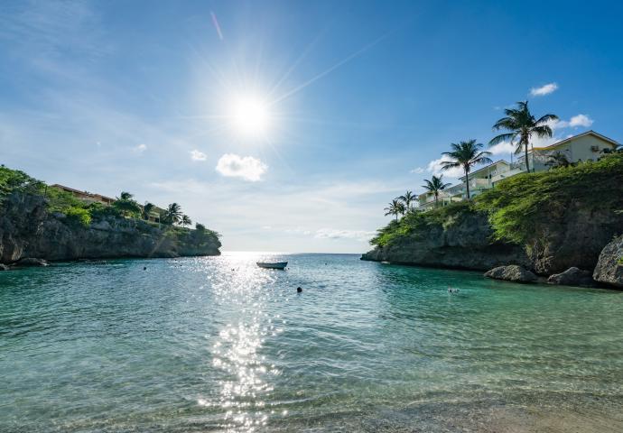 加勒比库拉索Playa Lagun海滩