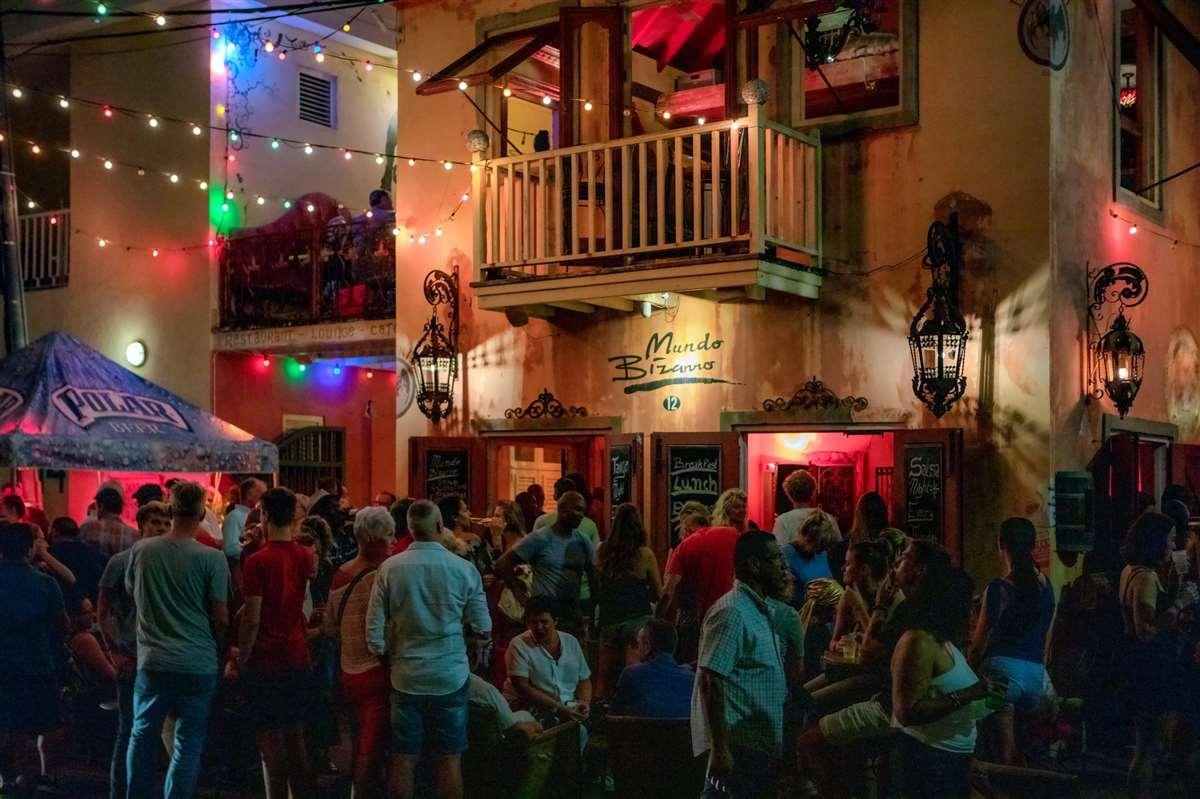 加勒比库拉索Mundo Bizarro酒吧