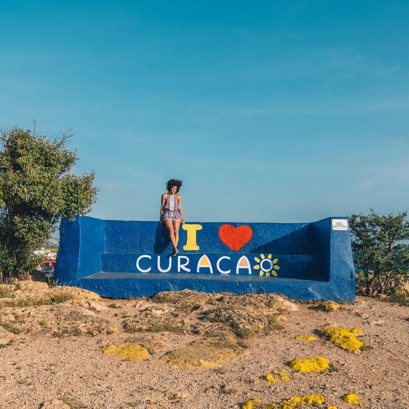 加勒比库拉索扬提尔海滩