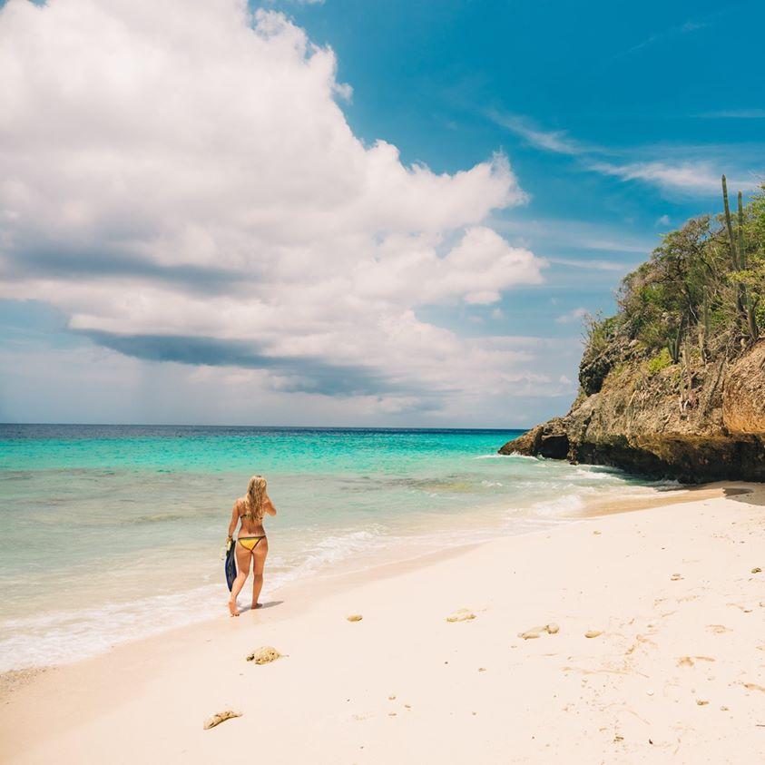 加勒比库拉索海滩
