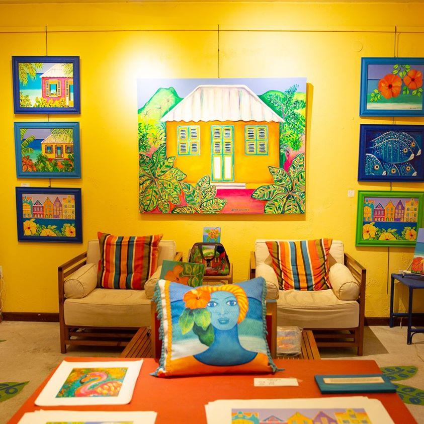 加勒比库拉索Nena Sanchez画廊