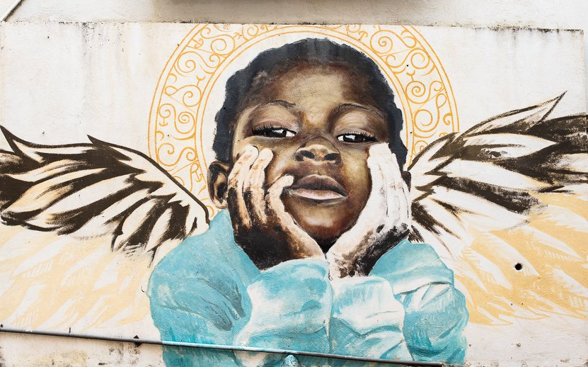加勒比库拉索街头涂鸦