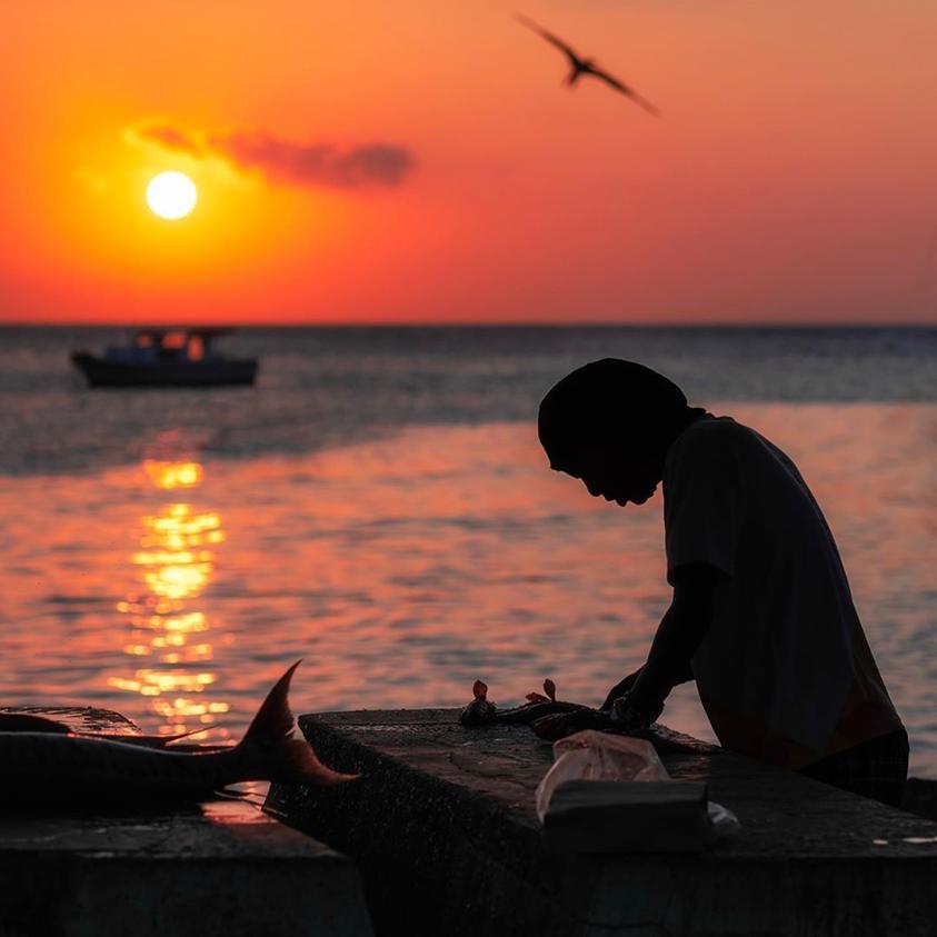 加勒比库拉索海鲜
