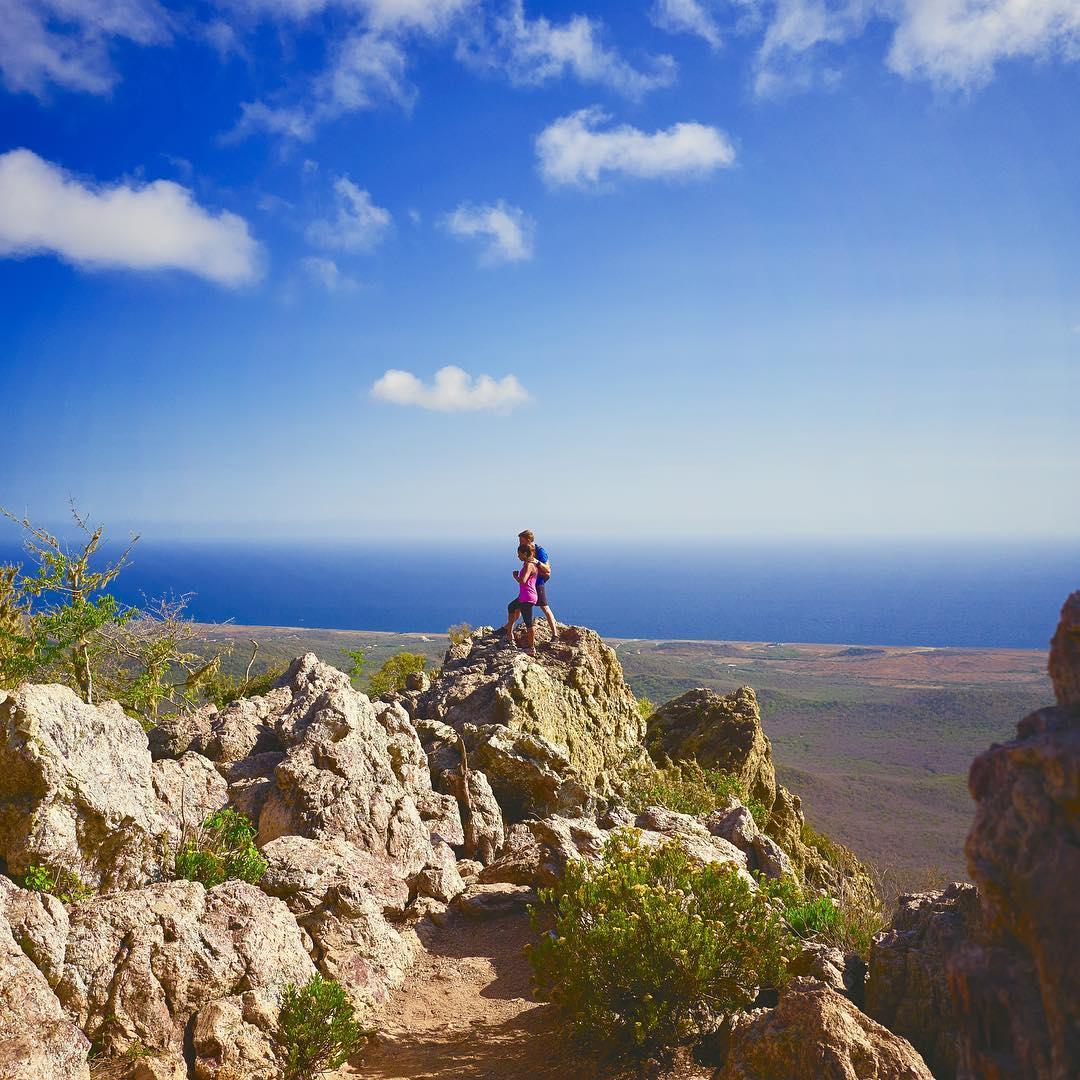加勒比库拉索克里斯托弗尔国家公园