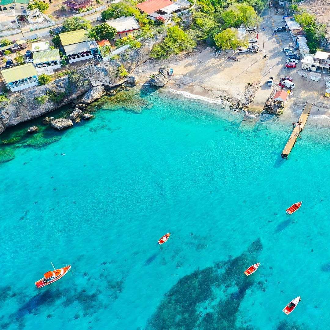 加勒比库拉索旅游Playa Grandi海滩