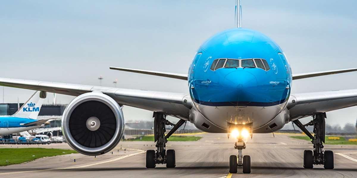 荷兰皇家航空KLM客机
