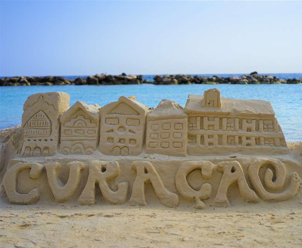 加勒比加勒比库拉索岛海滩