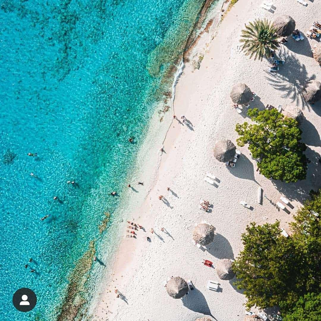 加勒比库拉索岛Cas Abao海滩