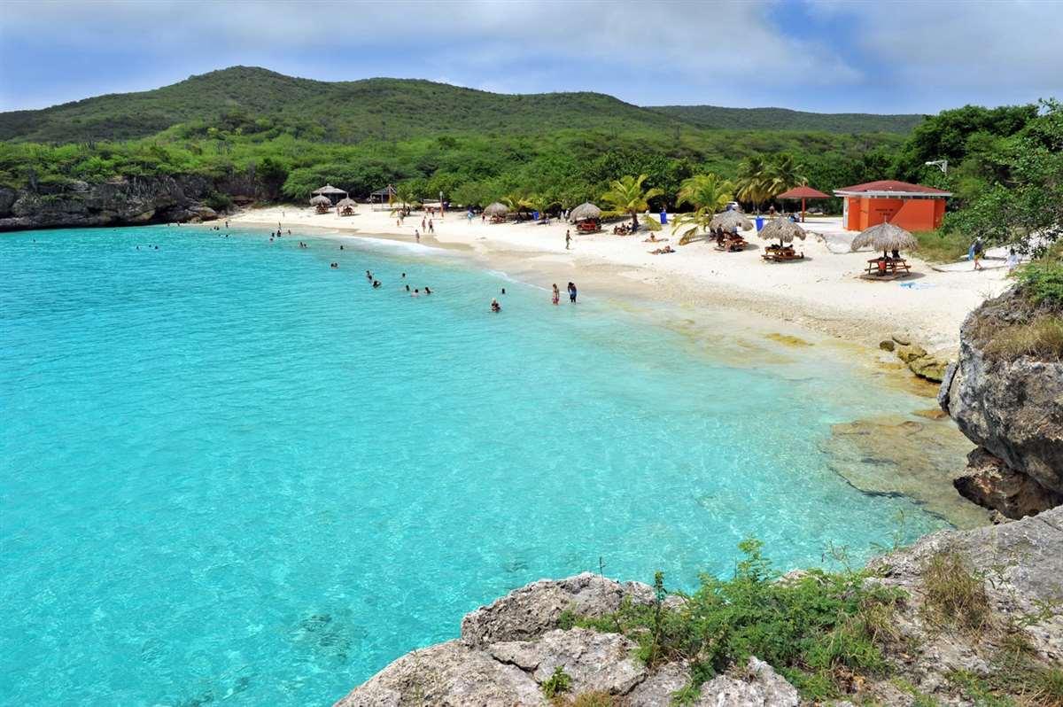 加勒比库拉索岛Kenepa海滩