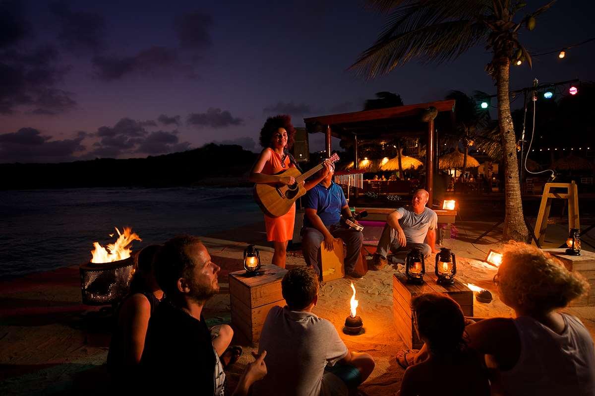 加勒比库拉索岛扬提尔海滩