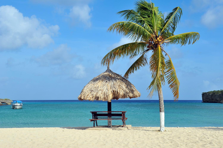 加勒比库拉索岛Santa Cruz圣克鲁兹海滩